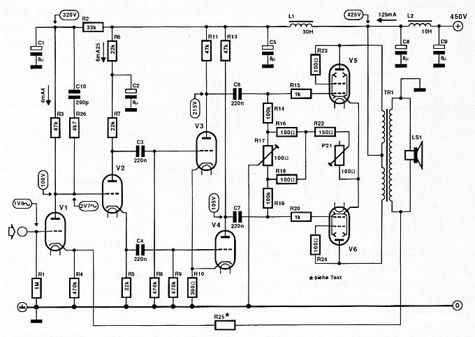 Williamson Röhrenverstärker / tube amp